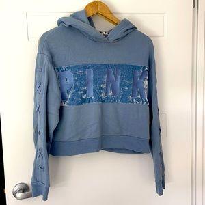 Victoria Secret PINK crop hoodie